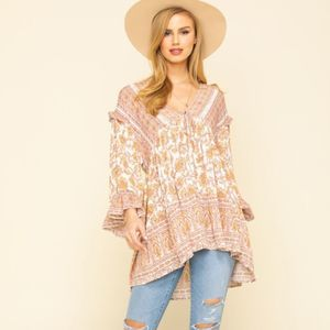 Free People Moonlight Dance Tunic Size L